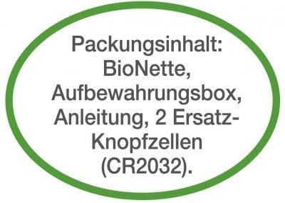 Packungsinhalt Bionette